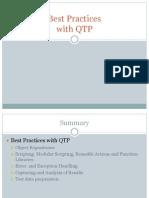 QTP Best Practices