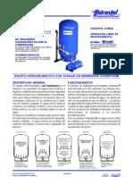 Hidrostal Folleto Equipo Hidroneumatico