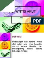 Hepatitis Akut
