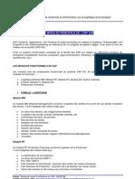 Modules SAP