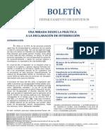 Declaración de interdicción - Boletín CAJ RM