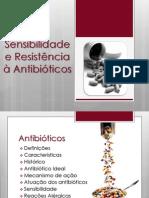 Sensibilidade e Resistência à Antibióticos