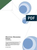 Discover Discussion Debate - Social Behaviour
