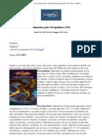 Minotauro para Dragonlance D20 - Página de impressão amigável - RPG_ D&D - RedeRPG