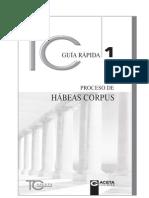 Guia 1 Proceso de Habeas Corpus