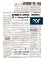 """""""Dramma e morte di un insegnante"""" (La Stampa, 18 settembre 1983)"""