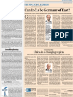 China in a Changing Region The Financial Express January 02, 2013