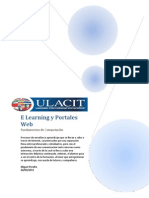 E Learning y Portales Web