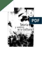 Gimenez Montiel Gilberto. Teorias y Analisis de La Cultura. Vol. 1.