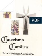 Catecismo Católico Para la Primera Comunión