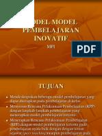 Model Model Pembelajaran Inovatif1