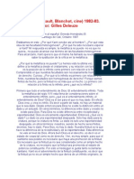 Leibniz (Blanchot)- Deleuze
