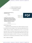 Chetco River Gravel Mining Summary Judgement Order