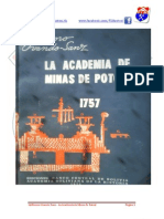 Academia de MINAS 1757