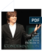 88881791 Root Cause is Condemnation Joseph Prince