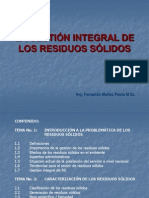 1 Gestion Integral Residuos