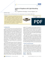 Electrochemical Integration of Graphene With Light-Absorbing