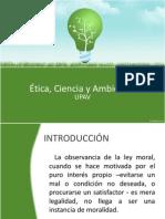 Ética, Ciencia y Ambiente