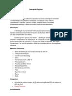 Destilação Simples (1)