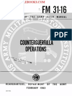 FM 31-16 Counterguerrilla Operations, 1963