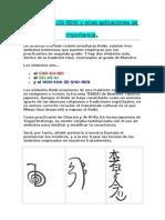 Aplicación del Reiki II Los Simbolos Reiki