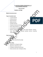 Manufacturing Technology II- Notes.pdf