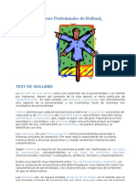 Los intereses Profesionales  de Holland.doc
