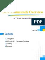 NET Framework Overview1