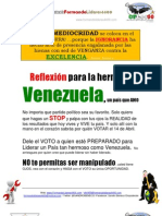 Sandro Benecci Reflexion Para VENEZUELA HERMOSA