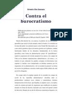 Contra El Burocratismo. Ernesto Che Guevara
