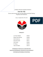 Laporan Kelompok II (Selai)