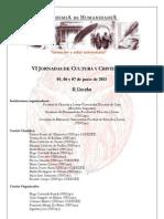 2° Circular-Jornadas de Cultura y Cristianismo-junio 2013-Conferencistas