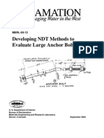 NDT Anchor Bolts Position Paper