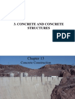 Manufacturing of Concrete, Mix Design