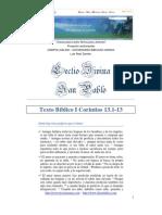 Lectio Divina Sobre San Pablo Apostol - 1 Corintios