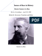 Le Bon Gustave - The Influence of Race in History
