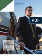 Net Jets Pilot & Benefits Package