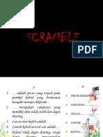 Soal untuk model pembelajaran scramble