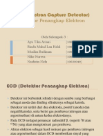 ECD (Electron Capture Detector)