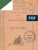 Artillerie Allemande (les fusées 1.2)