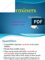 Group 4 Quantifiers
