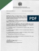 Ofício Circular ASDOCI sn 20-07-2001 - Modelos Publ DO