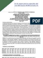 Calendario Contribuyentes Especiales 2013 (Completo Con Dictamen)