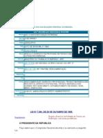 Fed Lei 7.394-1985 - Regula Tec Radiologia Decreto Tb