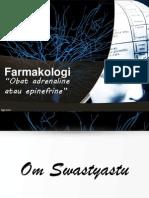 Farmakolog Adrenaline