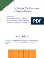 WH - Storage Configuration