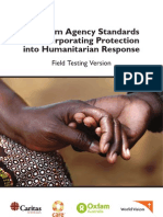 Minimum Agency Standards for Incorporating Protection into Humanitarian Response