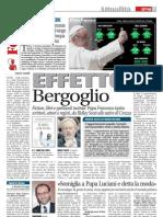 Effetto Papa Francesco