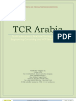 TCR Arabia Company Profile