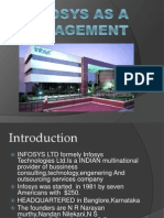 Infosys as a Management 2